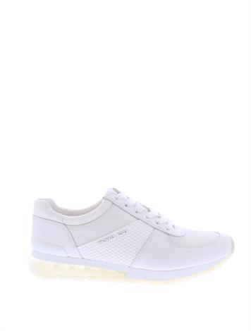 d8c3bf6c61b ... Michael Kors Allie Trainer Ext Optic White