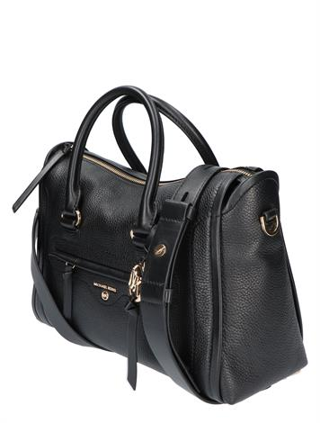 Michael Kors Carine Medium Satchel Black