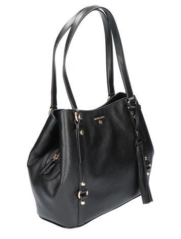 Michael Kors Carrie Large Shoulder Bag Black