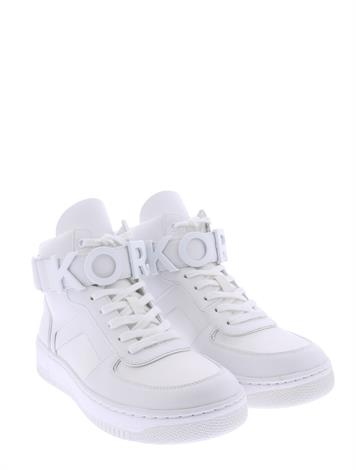 Michael Kors Cortland High Top Sneaker Optic White