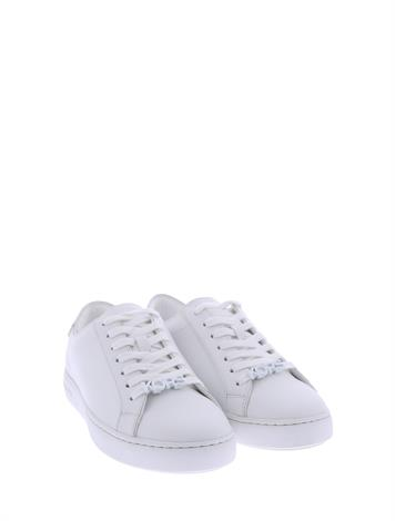 Michael Kors Harper Lace Up Optic White