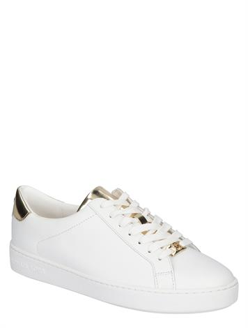 Michael Kors Irving Lace Up Optic Pale Gold