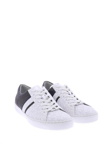 Michael Kors Keaton Stripe Sneaker Brown Black White