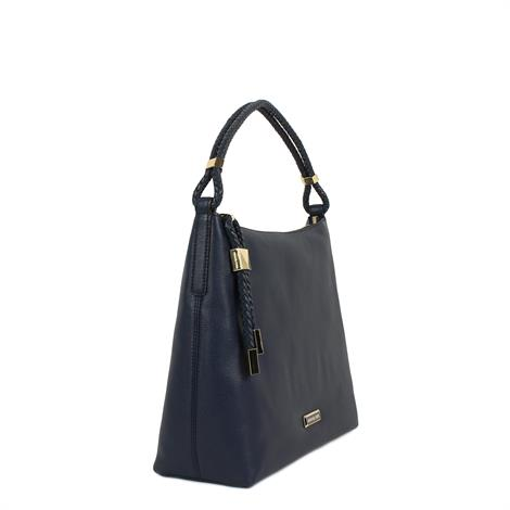 Michael Kors Lexington Large Shoulder Bag Navy