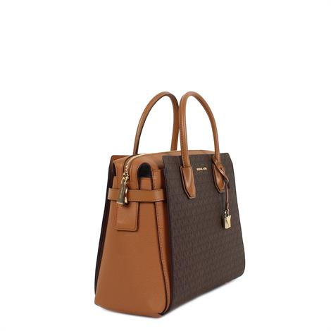 Michael Kors Mercer Large Logo Tote Brown