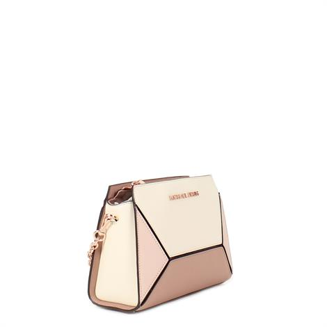 Michael Kors Prism Medium Leather Messenger Soft Pink