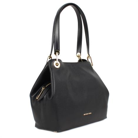 Michael Kors Raven Large Shoulder Tote Black