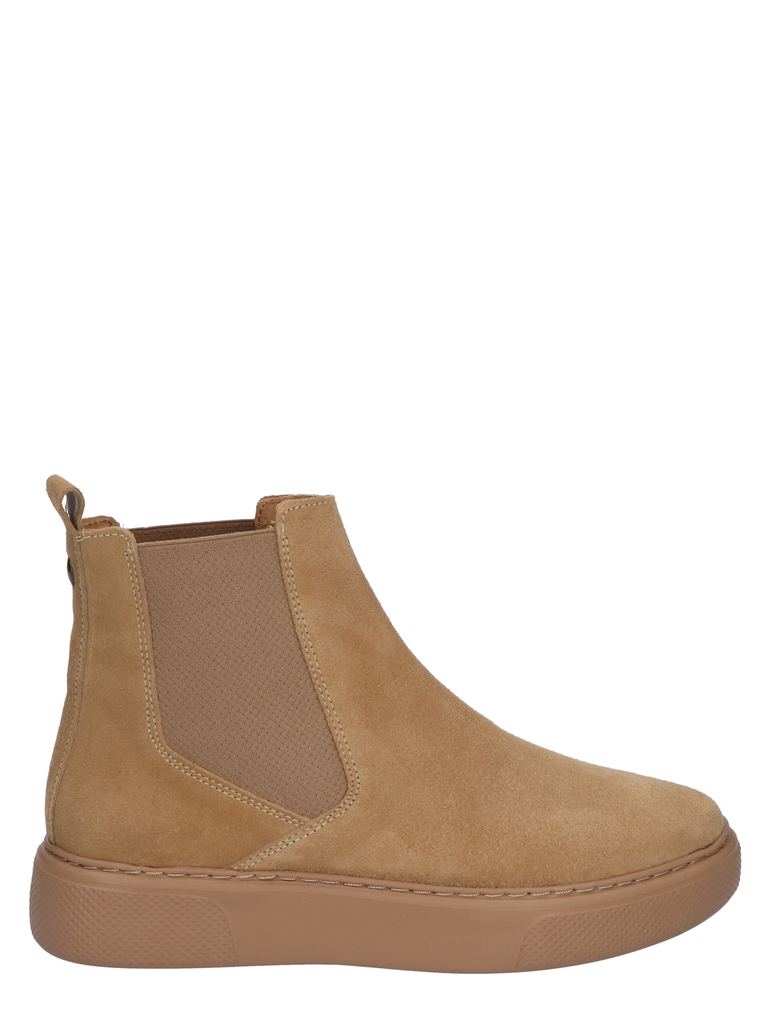 Miss Behave Alex 11 Camel Suede Chelsea boots