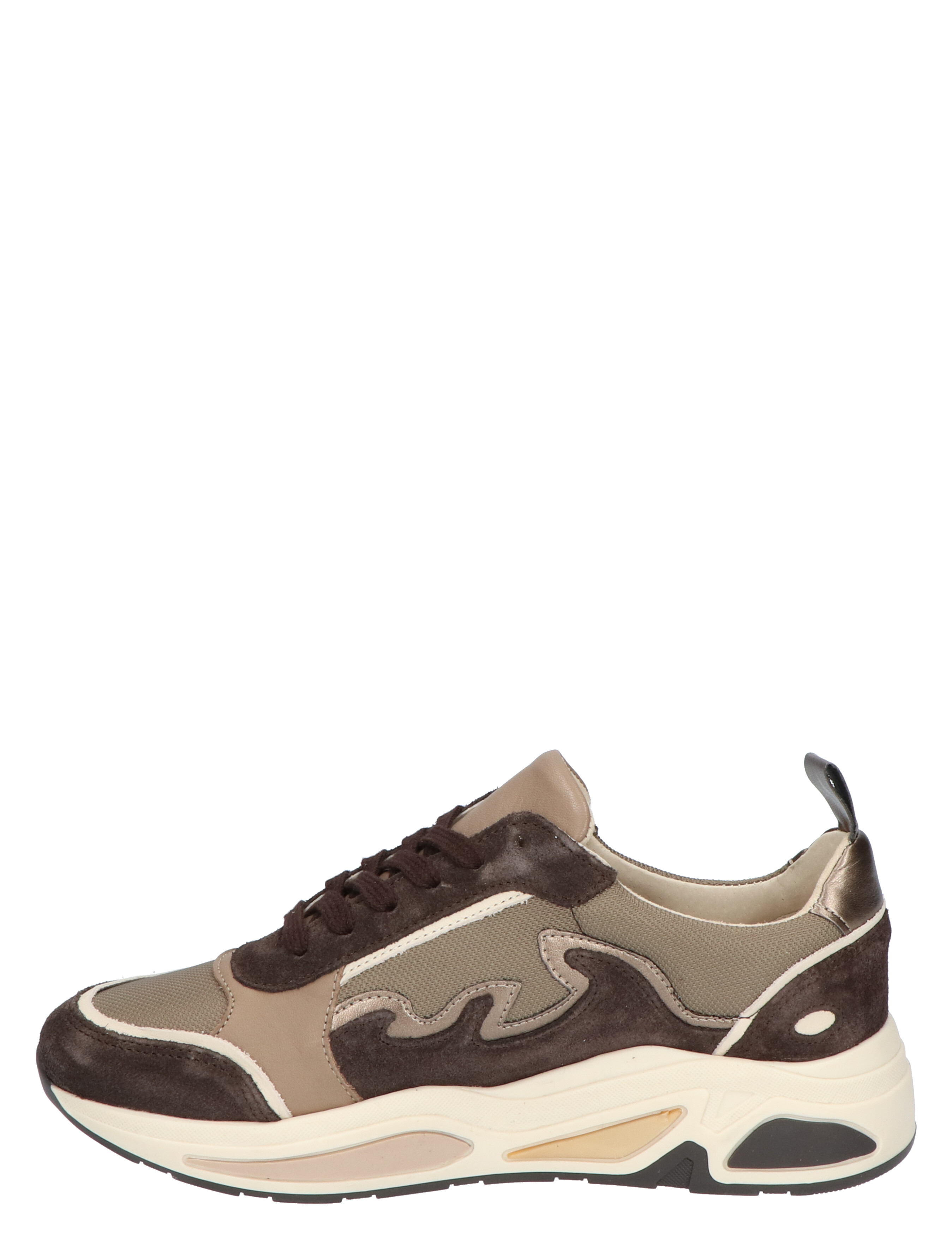 Miss Behave Maia Taupe Lage sneakers