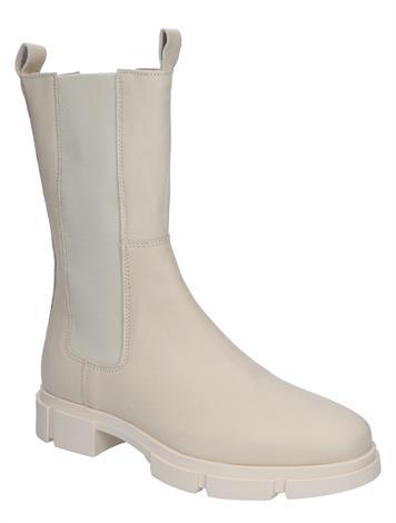Miss Behave Romy 1-2 Bone White leather
