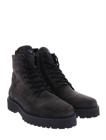 Nubikk Logan Harbour Dark Grey Suede