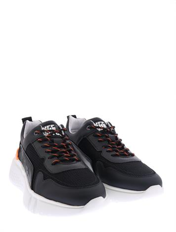 OTP Trebble Runner Black Leather