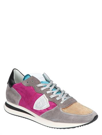 Philippe Model TRPX Low Women Broderie Viole