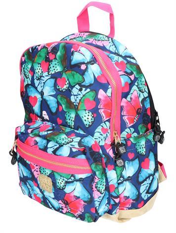 Pick en Pack Beautiful Butterfly M Navy