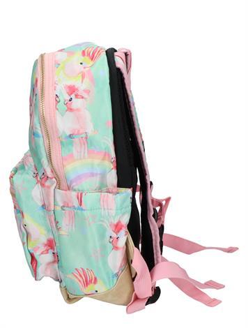 Pick en Pack Unicorn Birds Backpack M Soft Green