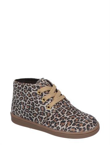 Pinocchio F1953 Beige Leopard Glitter