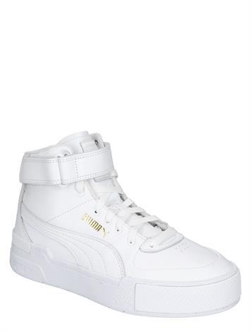 Puma Cali Sport Top Warm Up White