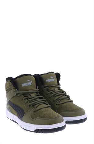 Puma Rebound Lay-Up Fur Burnt Olive
