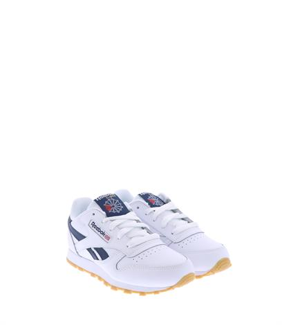 Reebok Classic Leather 1 White Collegiate Navy