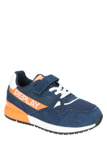 Replay Glazov Navy White