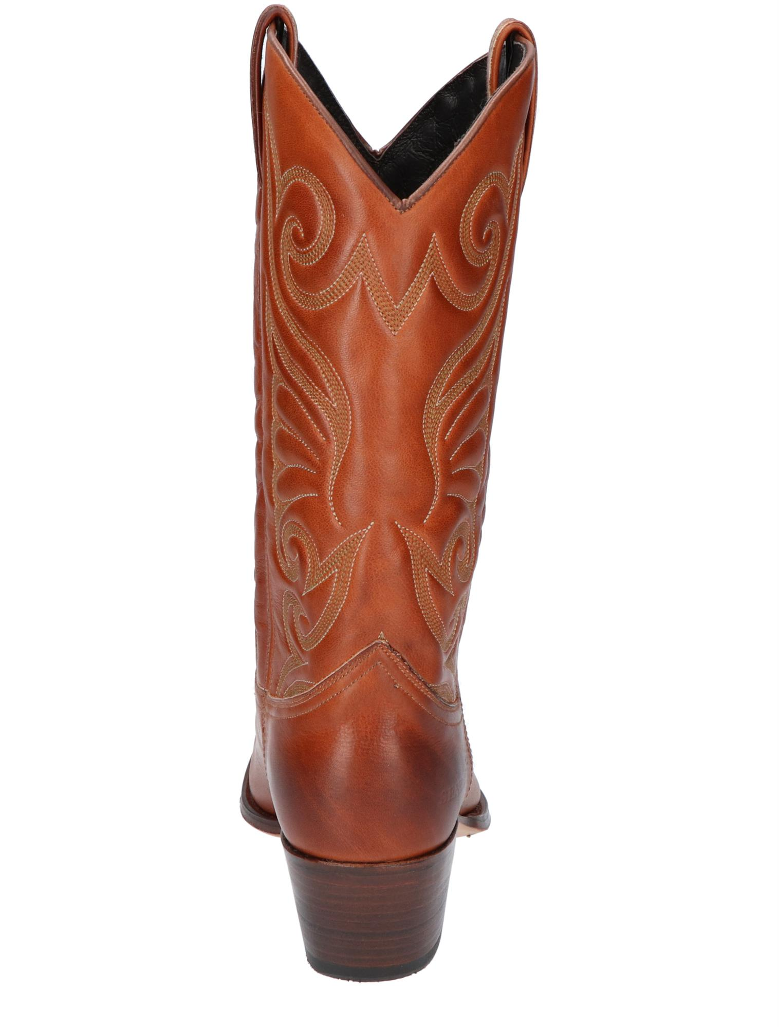 Sendra 11627 Debora Savaje Cuoio Lange Laarzen Boots