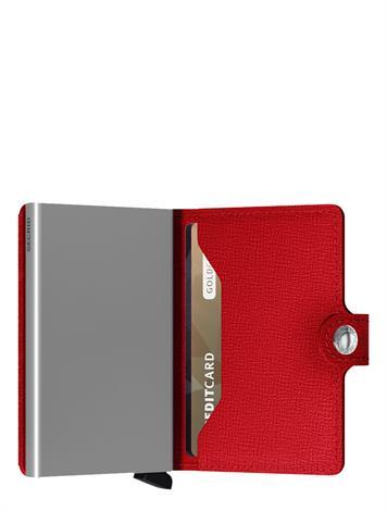 Secrid Mini Wallet Crisple MC-Red