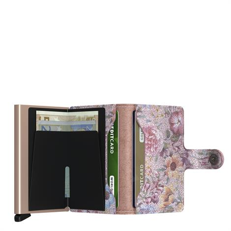 Secrid Mini Wallet Crisple Rose Floral