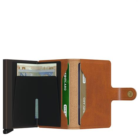 Secrid Mini Wallet Original Cognac Brown