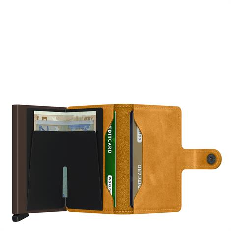Secrid Mini Wallet Vintage MV Ochre