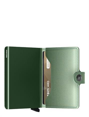 Secrid Miniwallet Metallic mme-Green