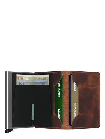Secrid Slim Wallet Vintage SV-Brown