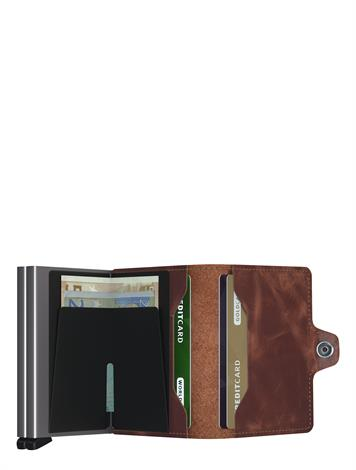 Secrid Vintage Twin Wallet TV Brown