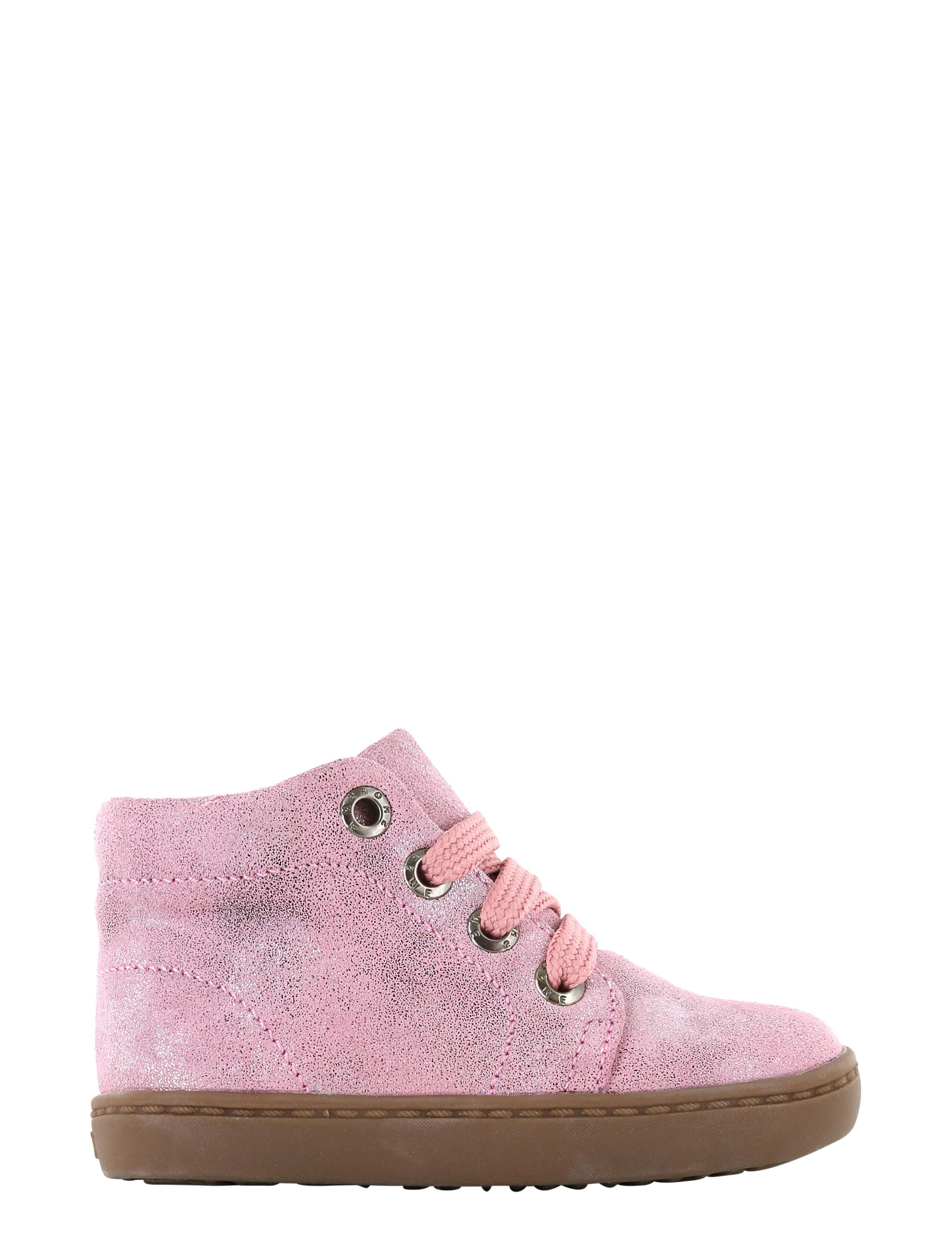 Shoesme FL21W001-A Pink Metallic Baby-schoenen