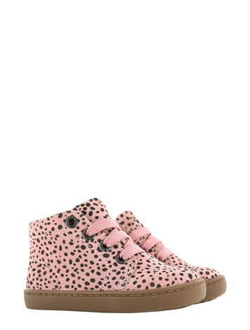 Shoesme FL21W001-P Pink Black Dots