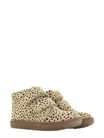 Shoesme FL21W004-F Beige Black Dots