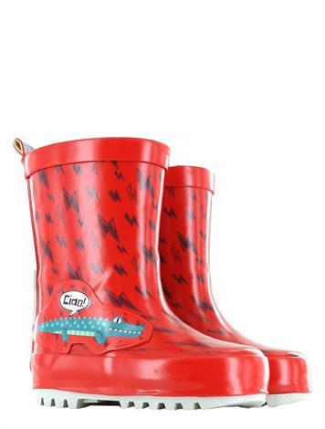 Shoesme Go Bananas Alligator Rainboot Red