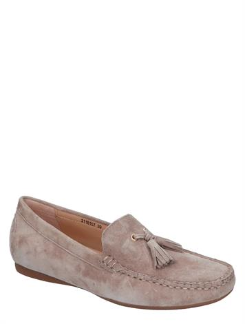 Si Hanime Taupe Suede