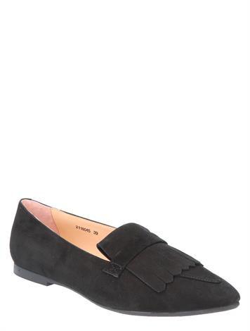 Si Jennifer Black Suede