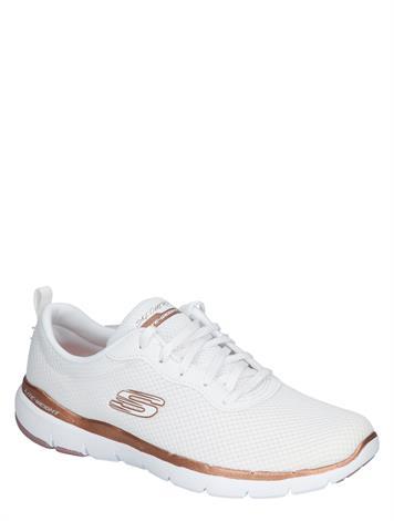 Skechers 3070 White Rose Gold