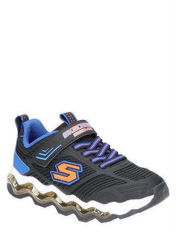Skechers 97952 Black Blue Orange