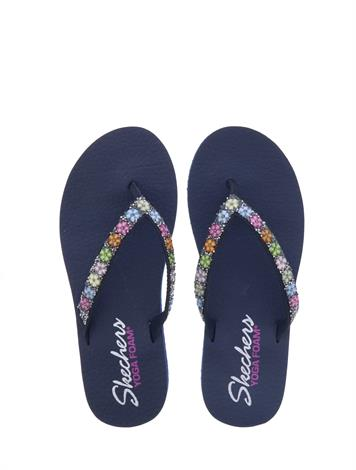 Skechers Meditation Daisy Delight Navy