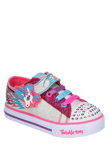 Skechers Shuffles Party Pets Silver