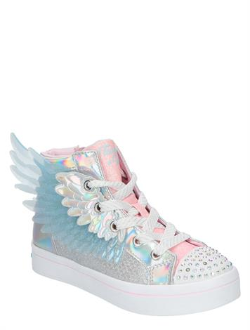 Skechers Twi Lites 2.0 Unicorn Wings Zilver
