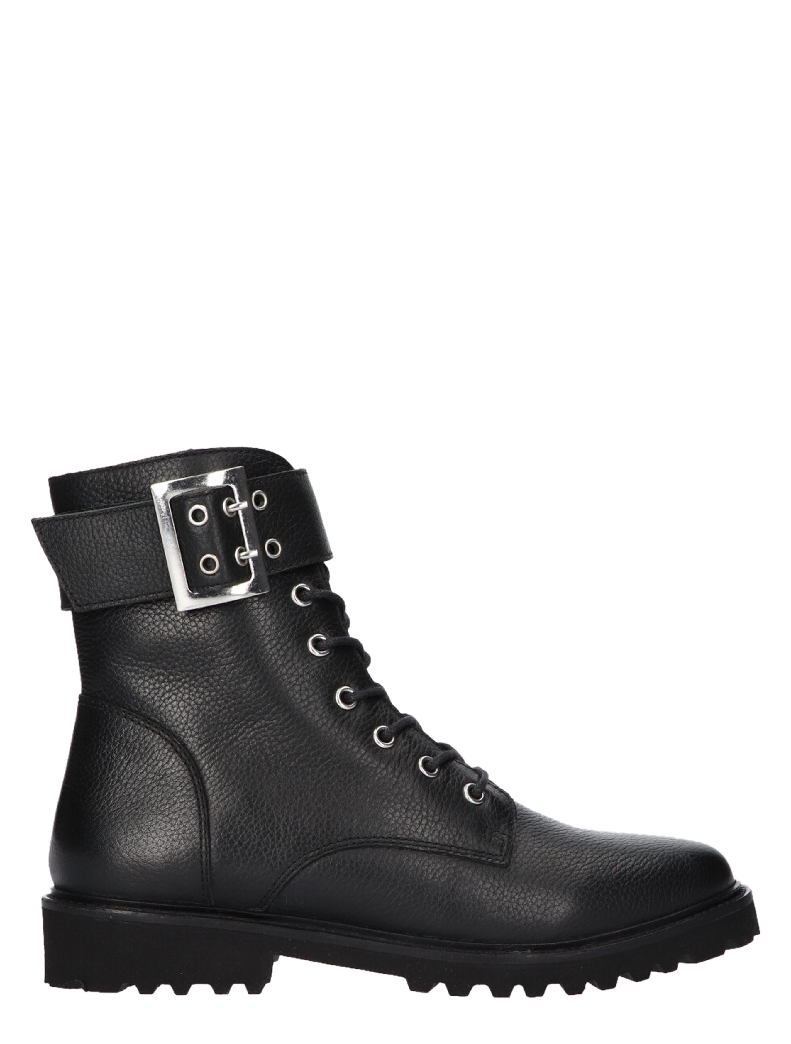 Tango Bee 524-f Black Biker boots