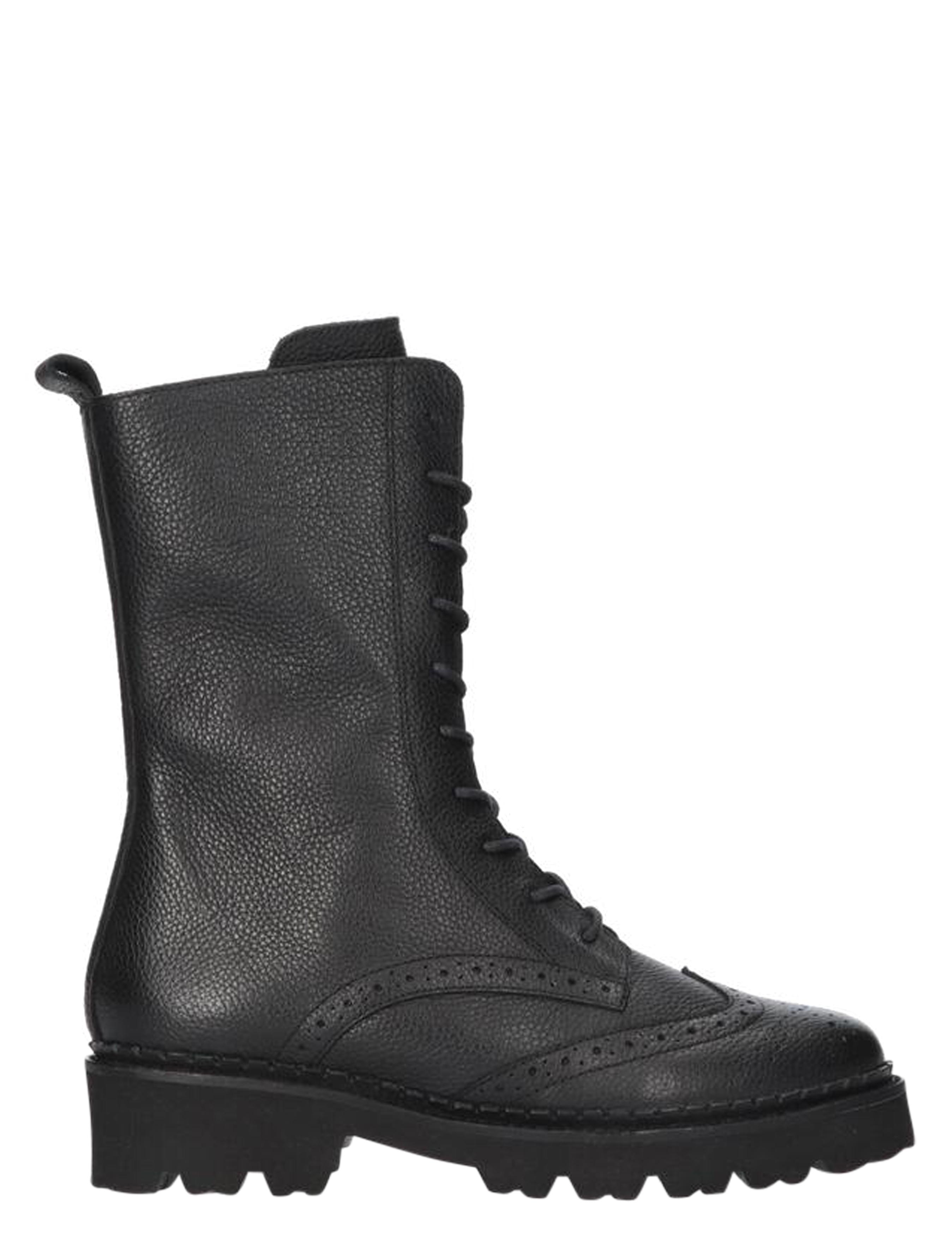 Tango Bee Bold 502-a Black Biker boots