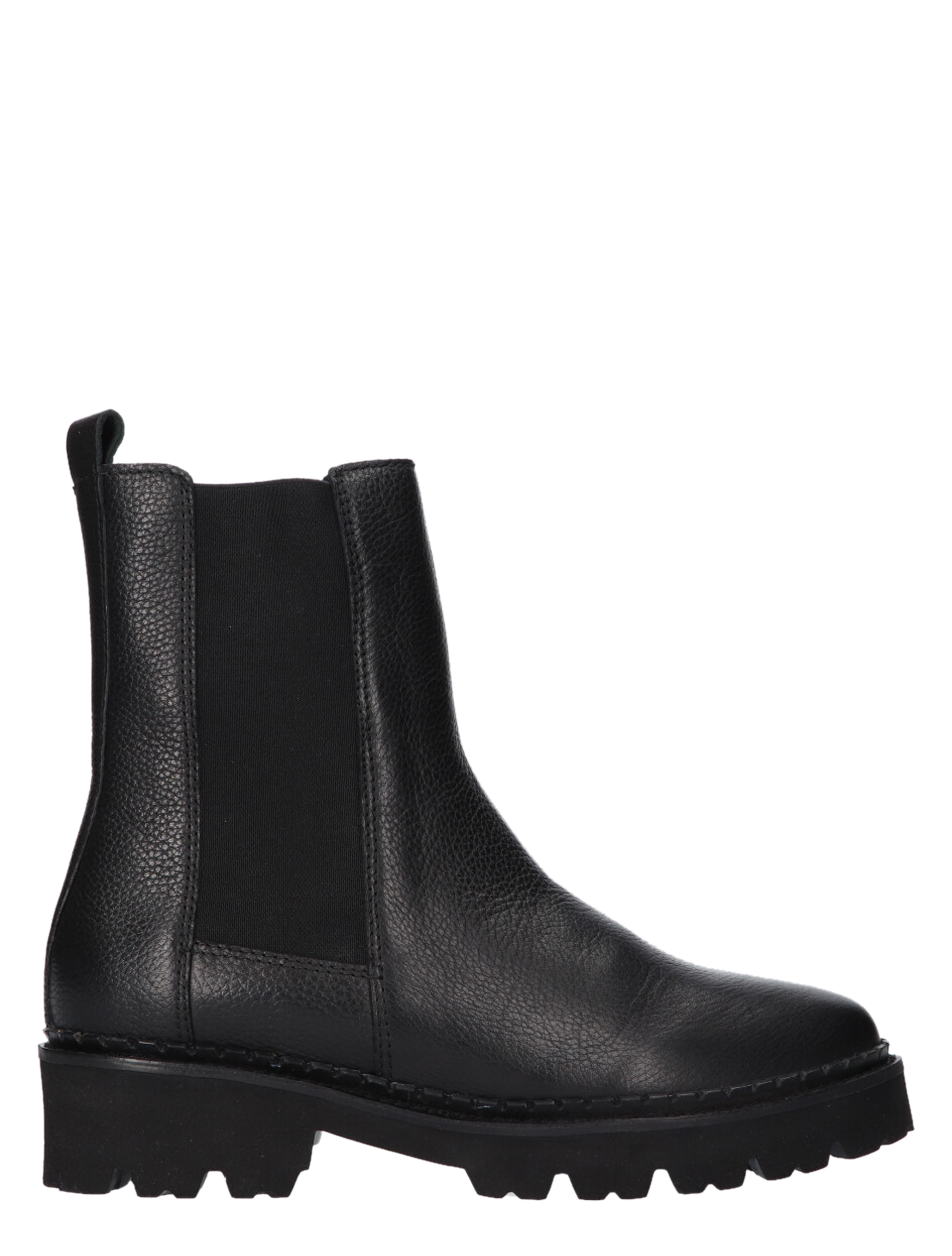 Tango Bee Bold 509-a Black Chelsea boots