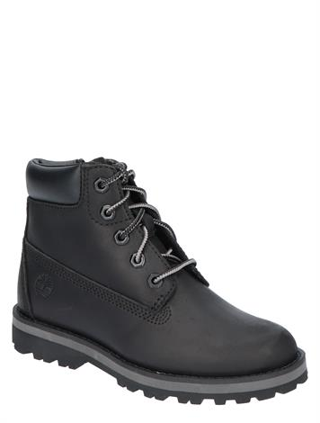 Timberland Courma Kid 6 Inch Boot Black Full Grain