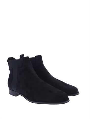 Tod's Ankle Boots in Suede Black