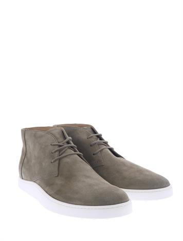 Tod's Ankle Boots Suede Beige