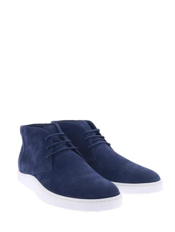 Tod's Ankle Boots Suede Blue
